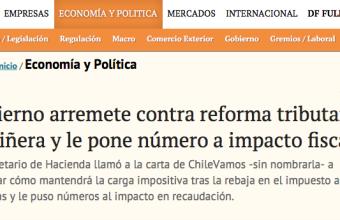 Gobierno arremete contra reforma tributaria de Piñera y le pone número a impacto fiscal