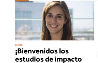 ¡Bienvenidos los estudios de impacto regulatorio!