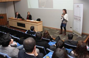 Facultad presenta CDRE en Seminario de Compliance y Buenas Prácticas Corporativas en Concepción