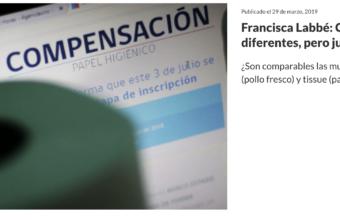 Columna de opinión, Colusión: Sanciones diferentes, pero justas por Francisca Labbé