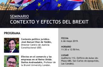 Seminario Contexto y Efectos del Brexit