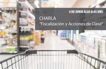"""Charla """"Fiscalización y Acciones de Clase"""". Expone: Lucas del Villar, Director del Sernac."""