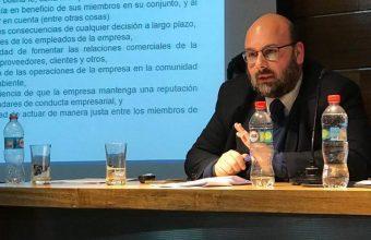 Participación en las X Jornadas de Derecho Comercial por Matías Pascuali