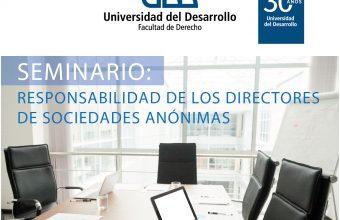 Seminario: Responsabilidad de los Directores de Sociedades Anónimas, ccp