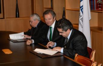 Facultad de Derecho firmó acuerdo con Tribunal Constitucional