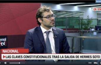 Sergio Verdugo, Abogado UDD se refiere a la reciente remoción de Hermes Soto en Emol TV