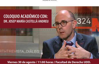Coloquio académicoDr. Josep María Castellà Andreu