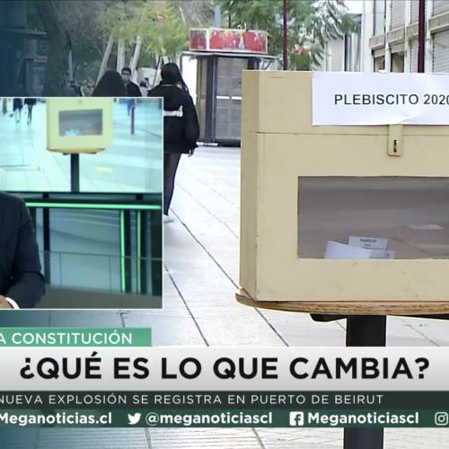 """Sergio Verdugo es panelista del programa """"Mesa Constituyente"""""""