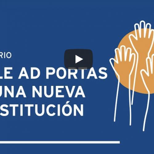 """Profesor Verdugo participó de Seminario """"Chile ad Portas de una Nueva Constitución"""""""