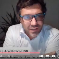 Sergio Verdugo comentó la presentación de la propuesta de Reglamento para la Convención Constitucional