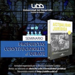 Con éxito desarrolló Seminario: Propuestas Constitucionales al Debate