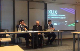 Investigadores del CJC participan de las XLIX Jornadas Chilenas de Derecho Público