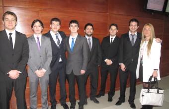 Alumnos de la Clínica Jurídica visitaron la I. Corte de Apelaciones de Concepción