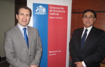 Abogados de la Corporación de Asistencia Judicial del Bio Bio asistieron a seminario organizado por la Clínica Jurídica