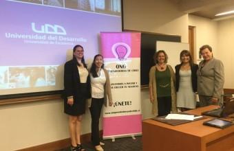 Clínica Jurídica suscribió convenio con ONG Mujeres Emprendedoras de Chile