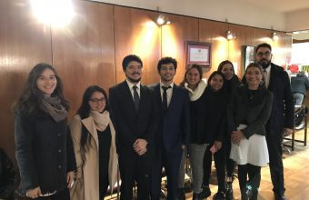 Alumnos de Clínica Jurídica visitaron Juzgado del Trabajo y el Conservador de Bienes Raíces Concepción.