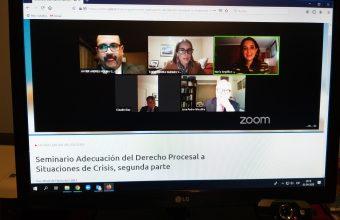 Profesora de Clínica Jurídica participa en Seminario de Derecho Procesal