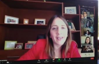 Jueza del Trabajo de Concepción dicta Charla a alumnos de Clínica Jurídica