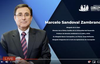 Director de Clínica Jurídica dicta Charla en la Academia Municipal de Emprendimiento de Concepcion.