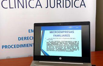 Clínica Jurídica Participa en Seminario online con Emprendedores de la comuna de Casablanca, V Región