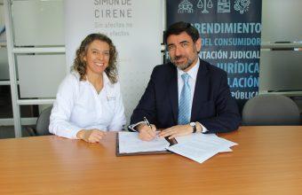 Clínica Jurídica Suscribe Convenio de Colaboración con ONG Simon de Cirene