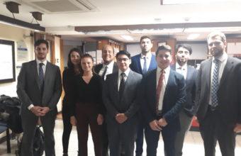 Visita pedagógica al 24° Juzgado Civil de Santiago