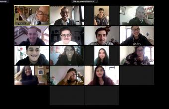 Alumnos de Clínica Jurídica Santiago participan en visitas virtuales a autoridades en materia de protección de los derechos del consumidor.