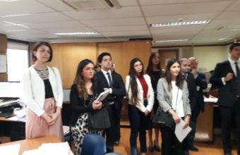 2ª Visita pedagógica al 24° Juzgado Civil de Santiago