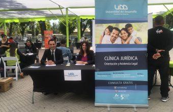 participación de la Clínica Jurídica en la 9° Feria Laboral y de emprendimiento en la comuna de Renca.