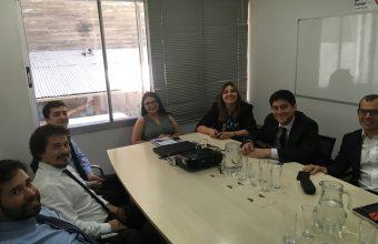 Abogados de la Clínica Jurídica se reúnen con Sernac para la puesta en marcha del Convenio entre ambas instituciones