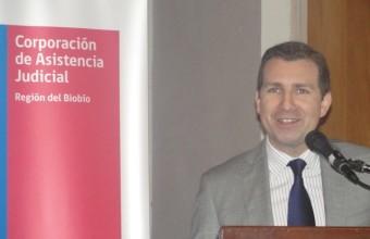 Director de la Corporación Asistencia Judicial de la Región del Bío-Bío destaca su paso por la Universidad del Desarrollo.