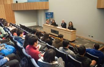 Decano de la Facultad se reune con estudiantes de Derecho Concepción