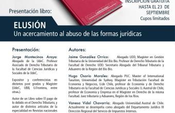 """Presentación del libro """"ELUSIÓN. Un acercamiento al abuso de las formas jurídicas""""."""