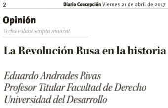 Opinión: La Revolución Rusa en la historia