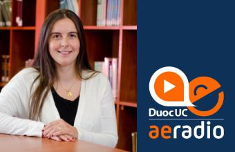 """Profesora María José Menchaca habla sobre """"Pensiones de alimentos"""" en AERadio Duoc UC"""