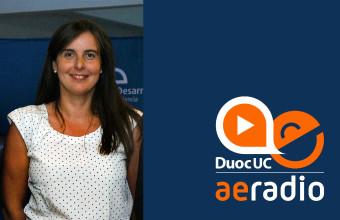 Profesora María José Menchaca habla sobre Propiedad Intelectual en AERadio DUOC UC
