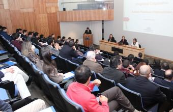Facultad presenta CDRE en Seminario de Compliance y Buenas Prácticas Corporativas