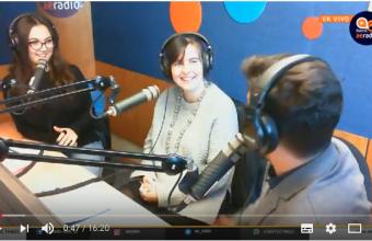 Profesora María José Menchaca habla sobre boletines comerciales en AERadio DUOC UC