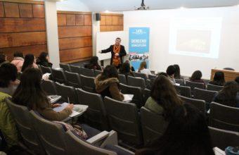 Estudiantes de enseñanza media participan en pasantía de invierno, Derecho UDD