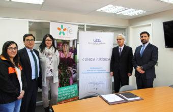 Clínica Jurídica de Concepción Firma Convenio con Fondo Esperanza