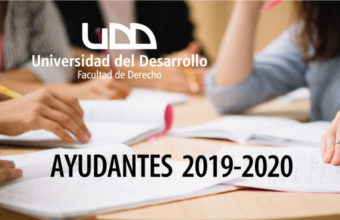 Bases concurso de Ayudantes período 2019-2020