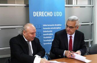 Derecho UDD firma convenio con Notaria Garcia Carrasco