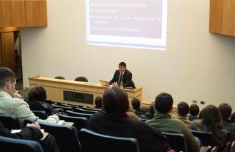 Conferencia analiza figuras contractuales claves en materia de transferencia tecnológica