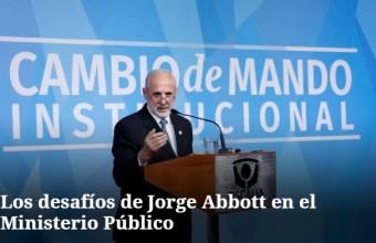 Los desafíos de Jorge Abbott en el Ministerio Público, por Alejandro Leiva y profesores de la Facultad
