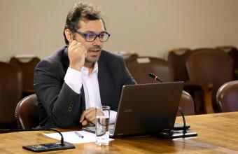 Exposición del profesor investigador Sergio Verdugo Ramirez en la Cámara de Diputados.