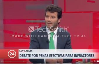 Profesor Pablo Huidobro habla sobre la Ley Emilia en TVN