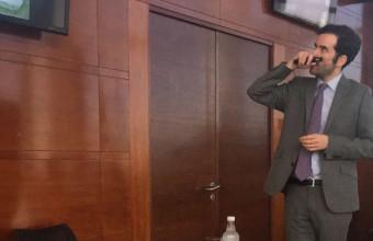 Nicolás Enteiche realiza curso para abogados y autoridades de INAPI