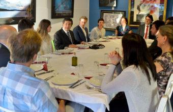 Conversatorio conProfesores Suecos de UPPSALA Y LUND