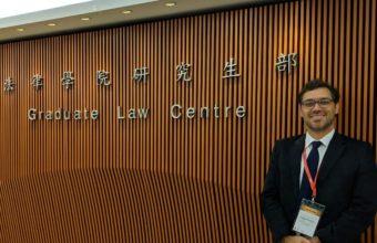 Profesor Sergio Verdugo, asistió a conferencia organizada por la Chinese University