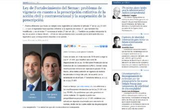 Comentario jurídico sobre la Ley de Fortalecimiento del Sernac, por Jaime Carrasco Poblete